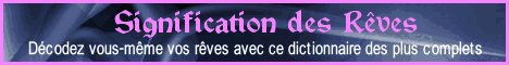 Signification des rêves